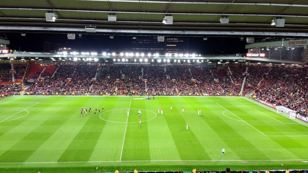 Football Pitch - online betting